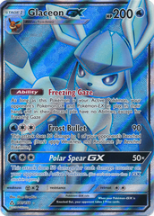 Glaceon GX - 141/156 - Full Art