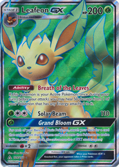 Leafeon GX - 139/156 - Full Art Ultra Rare