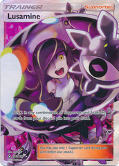 Lusamine - 153/156 - Full Art Ultra Rare