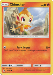 Chimchar (21) - 21/156 - Common