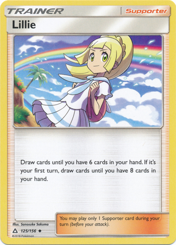 Sun /& Moon Gardenia Reverse Holo 124//156 Uncommon Pokemon Ultra Prism