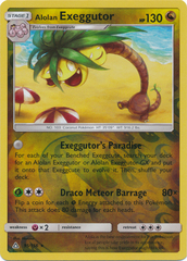 Alolan Exeggutor - 95/156 - Rare - Reverse Holo on Channel Fireball