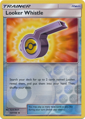 Looker Whistle - 127/156 - Uncommon - Reverse Holo