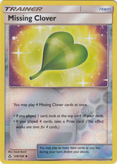 Missing Clover - 129/156 - Uncommon - Reverse Holo