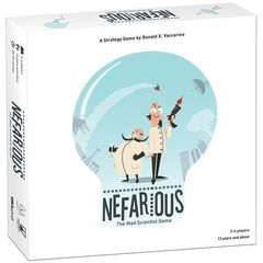 Nefarious: The Mad Scientist Game (2018)