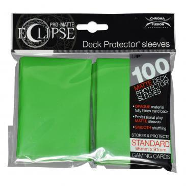 Ultra Pro - Pro Matte Eclipse: Deck Protector 100 Count Pack - Lime Green