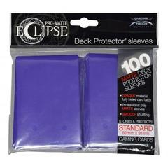 Ultra Pro - Pro Matte Eclipse: Sleeves - Purple (100ct)
