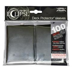Ultra Pro - Pro Matte Eclipse: Deck Protector 100 Count Pack - Black Standard Sized
