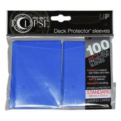Ultra Pro - Pro Matte Eclipse: Deck Protector 100 Count Pack - Pacific Blue