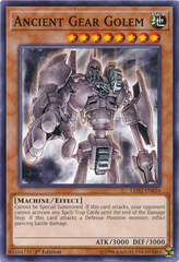 Ancient Gear Golem - LED2-EN034 - Common - 1st Edition