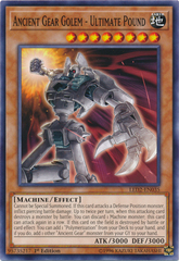 Ancient Gear Golem - Ultimate Pound - LED2-EN035 - Common - 1st Edition