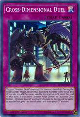 Cross-Dimensional Duel - LED2-EN033 - Super Rare - 1st Edition