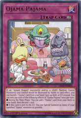 Ojama Pajama - LED2-EN024 - Rare - 1st Edition on Channel Fireball