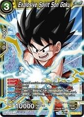 Explosive Spirit Son Goku - BT3-088 - SR