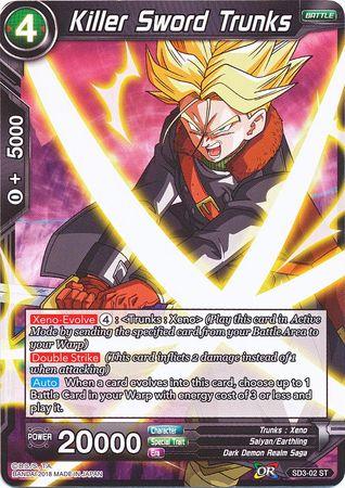 BT3-058 Son Goku Super Saiyan Français assaut lourd NM Dragon Ball Super