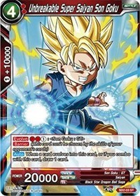 Unbreakable Super Saiyan Son Goku - SD2-03 - ST