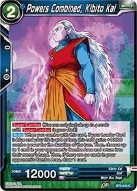 Powers Combined, Kibito Kai (Foil) - BT3-043 - C