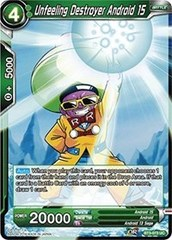 Unfeeling Destroyer Android 15 (Foil) - BT3-073 - UC