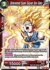 Determined Super Saiyan Son Goku (Foil) - BT3-005 - UC on Channel Fireball