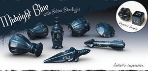 Polyhero Dice: Rogue Sets - Midnight Blue