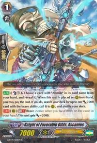 Knight of Favorable Odds, Ascanius - G-BT14/031EN - R