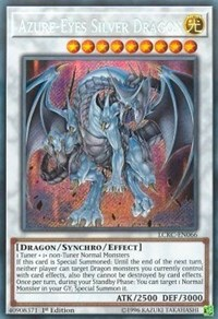 Azure-Eyes Silver Dragon - LCKC-EN066 - Secret Rare - 1st Edition