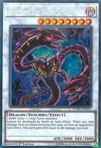Beelze of the Diabolic Dragons - LCKC-EN071 - Secret Rare - 1st Edition