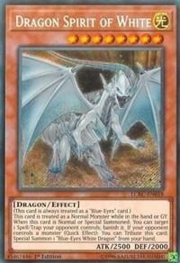 Dragon Spirit of White - LCKC-EN018 - Secret Rare - 1st Edition
