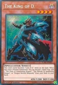 The King of D. - LCKC-EN107 - Secret Rare - 1st Edition