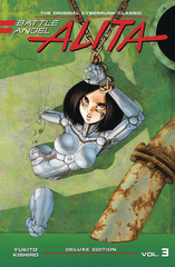 Battle Angel Alita Deluxe Edition Hardcover Vol 03