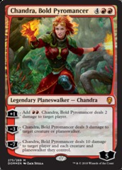 Chandra, Bold Pyromancer - Planeswalker Deck Exclusive