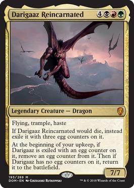 Darigaaz Reincarnated - Foil