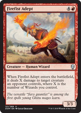 Firefist Adept - Foil