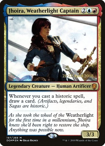 Jhoira, Weatherlight Captain - Foil