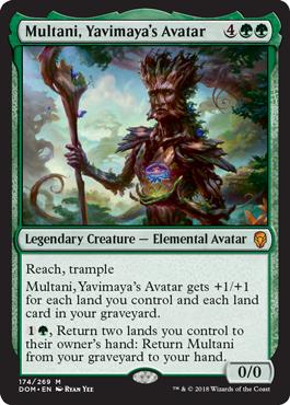 Multani, Yavimayas Avatar - Foil
