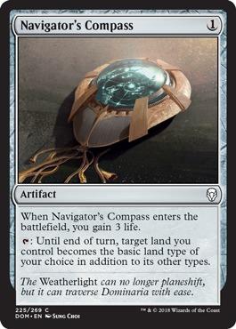 Navigators Compass - Foil
