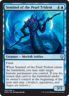 Sentinel of the Pearl Trident - Foil