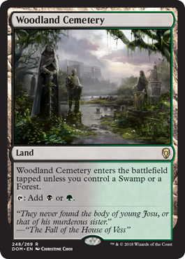 Woodland Cemetery - Foil