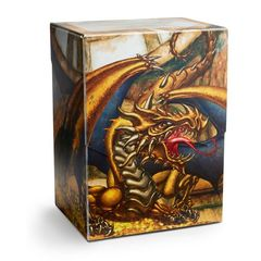 Dragon Shield: Deck Shell Art Gold