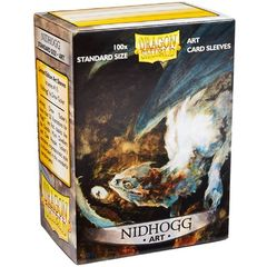 Dragon Shield Art Standard Sleeves - Nidhogg (100ct)