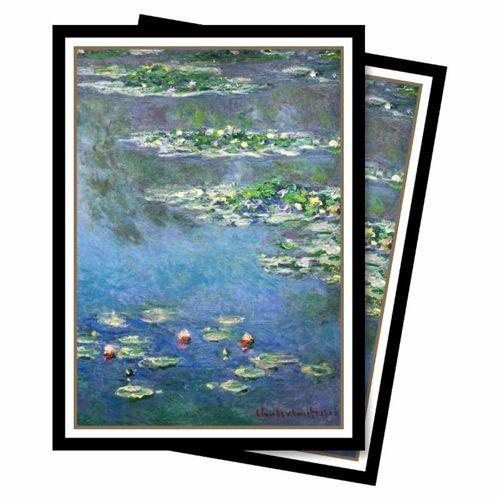 Ultra Pro - Fine Art: Standard Deck Protector - Water Lilies 65 Count