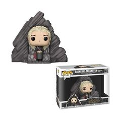 Pop! Deluxe 63: Game Of Thrones - Daenerys On Dragonstone Throne