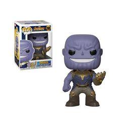 Pop! Marvel 289: Avengers: Infinity War - Thanos +1 random Marvel trading card