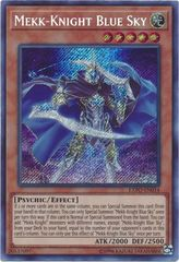 Mekk-Knight Blue Sky - EXFO-EN014 - Secret Rare - Unlimited Edition