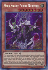 Mekk-Knight Purple Nightfall - EXFO-EN020 - Secret Rare - Unlimited Edition