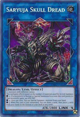 Saryuja Skull Dread - EXFO-EN048 - Secret Rare - Unlimited Edition