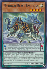 Mythical Beast Bashilisk - EXFO-EN025 - Rare - Unlimited Edition