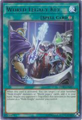 World Legacy Key - EXFO-EN057 - Rare - Unlimited Edition