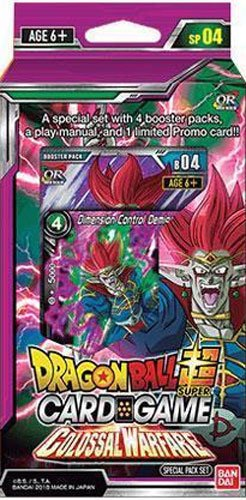Dragon Ball Super - Special Pack Set 4 - COLOSSAL WARFARE