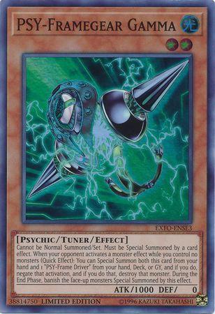 PSY-Framegear Gamma - EXFO-ENSE3 - Super Rare - Limited Edition